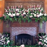 fireplace_wedding_flowers_1