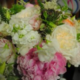 Bridal Bouquet Pink Ivory 1