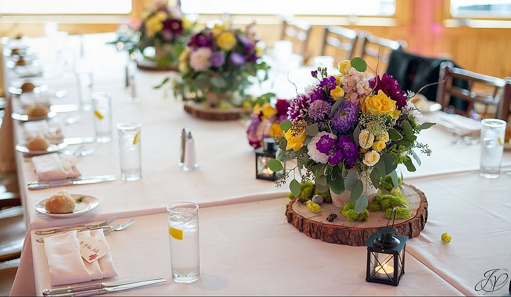 Wedding Flower Centerpieces | Lake Placid Flower and Gift
